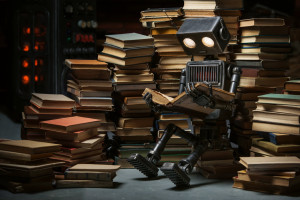 stock-photo-robot-child-reading-a-book-in-the-workshop-of-its-creator-287641082